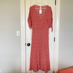 H&M floral maxi dress!